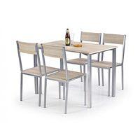 Zestaw stołowy dla czterech osób RALPH / Gwarancja 24m / NAJTAŃSZA WYSYŁKA!, OPT11239