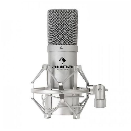 MIC-900B USB Mikrofon pojemnościowy srebrny kardioid.