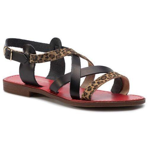 Sandały MACIEJKA - IT002-06/00-0 Brązowy Czarny, w 2 rozmiarach