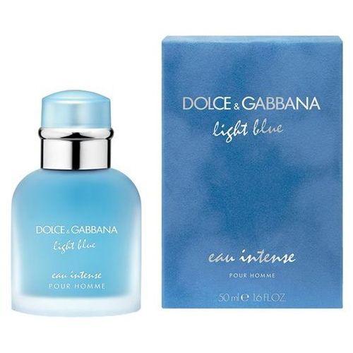 light blue eau intense pour homme, woda perfumowana, 50ml marki Dolce & gabbana