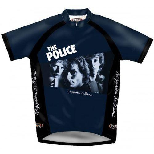 The police reggatta the blanc - koszulka rowerowa unikat! marki Primal