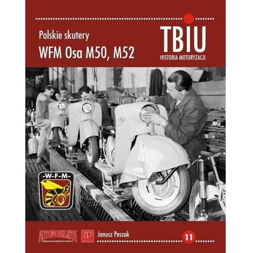 Polskie skutery WFM Osa M50, M52, oprawa miękka