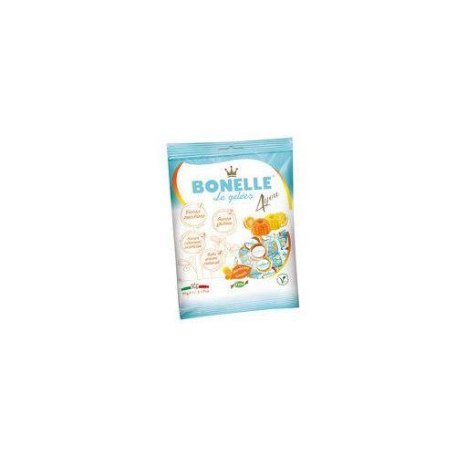 Żelki o smaku cytryny i mandarynki bez dodatku cukru 90g marki Bonelle