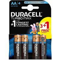 4 x bateria alkaliczna Duracell Duralock Turbo Max LR6 AA 3+1 BL (blister)