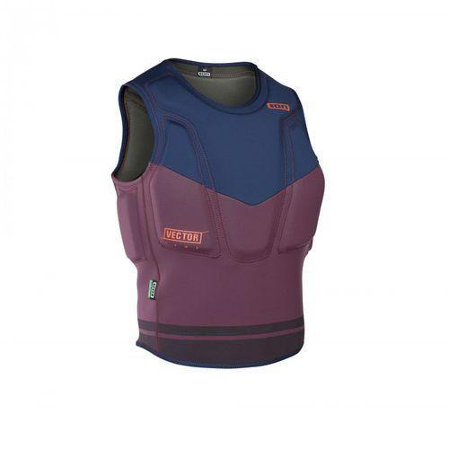 Kamizelka - vector vest comp | 2017 - wine Ion