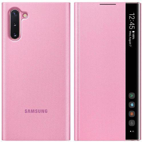 clear view standing cover futerał etui z inteligentną klapką samsung galaxy note 10 różowy (ef-zn970cpegww) - różowy marki Samsung
