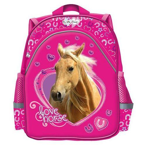 St. majewski Plecak szkolno-wycieczkowy ma belle cheval różowy (5903235241420)