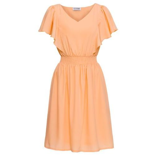 Sukienka bonprix morelowy, w 6 rozmiarach