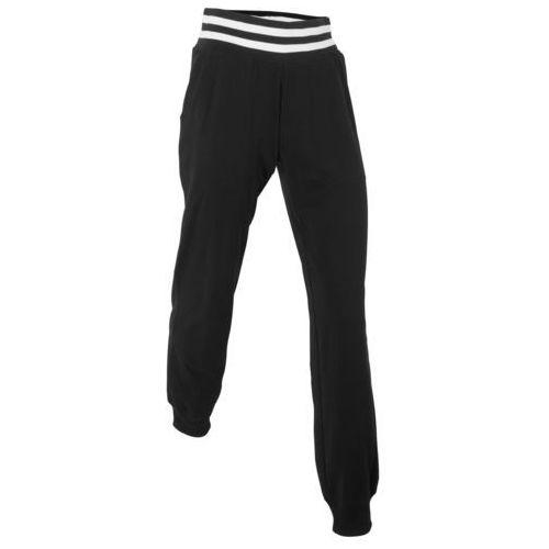 Spodnie sportowe, długie czarny marki Bonprix