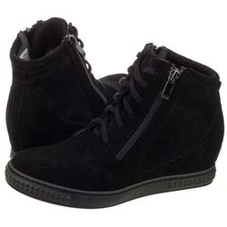 Sneakersy czarne 1123c cam ner (ve124-a), Venezia, 37-39