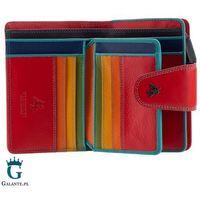 Kolorowy portfel damski visconti sp-31 rfid