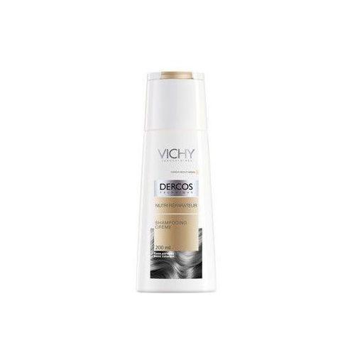 Dercos szampon w kremie odżywczo-regenerujący do włosów suchych 200ml Vichy