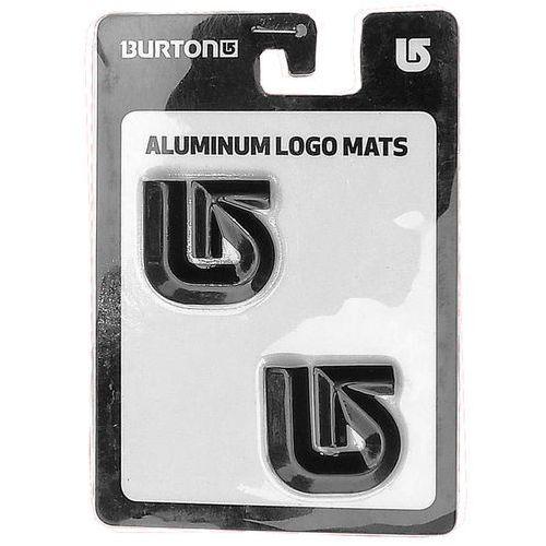 Pady antypoślizgowe aluminium logo mats Burton