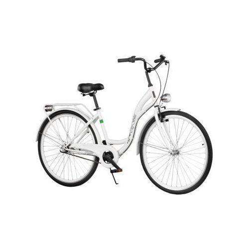 Dawstar Rower DAWSTAR Citybike S3B Biały + DARMOWY TRANSPORT! + Zamów z DOSTAWĄ JUTRO! + Zagwarantuj sobie dostawę przed Świętami!