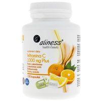 Aliness Witamina C 1000mcg Plus 100kaps vege - suplement diety (5902596935696)
