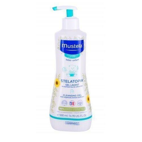 Mustela Bébé Stelatopia® Cleansing Gel żel pod prysznic 500 ml dla dzieci - Genialna przecena