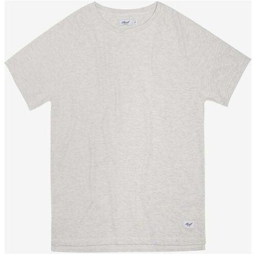 f66f0e82e0cfca Koszulka - raglan t-shirt off-white melange (off-white melange) rozmiar: l  marki Reell