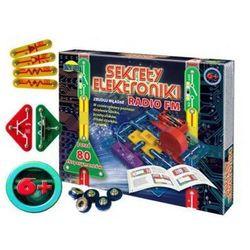 Zabawka: Sekrety Elektroniki (80-eksperymentów!!) Radio FM.