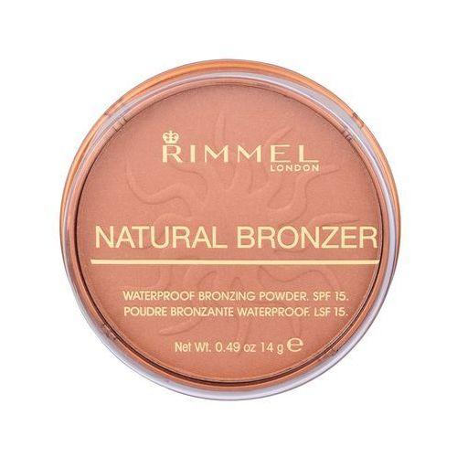 Rimmel london natural bronzer spf15 bronzer 14 g dla kobiet 025 sun glow - Super oferta