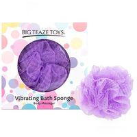 Wibrująca gąbka do kąpieli - Big Teaze Toys Bath Sponge Vibrating Fioletowy