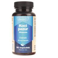 Kapsułki Pharmovit Koci pazur Vilcacora Ekstrakt 4:1 200 mg 90 kapsułek - suplement diety
