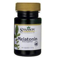 Kapsułki SWANSON Melatonina 3mg x 120 kapsułek