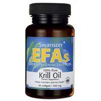 Kapsułki Swanson Krill Oil - Olej z kryla antarktycznego 60 kaps.