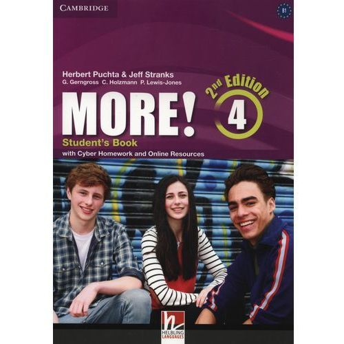 More! 4 Student's Book with Cyber Homework and Online Resources, Herbert Puchta|Jeff Stranks