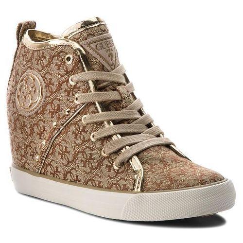 Sneakersy GUESS FLJLY3 ELE12 WHITE Sneakersy Półbuty