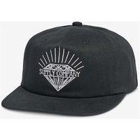 czapka z daszkiem DIAMOND - Split Unstructured Snapback Black (BLK)