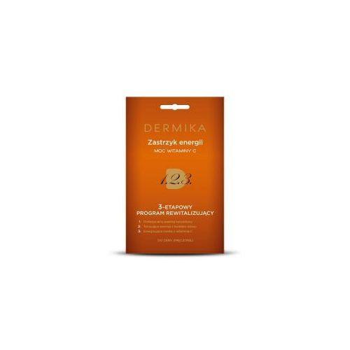 Dermika , 3-stopniowy program rewitalizujący, zastrzyk energii - moc witaminy c, 3x2ml