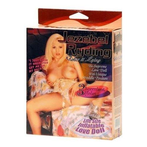 Dmuchana lalka miłości rozkraczona blondynka jezebel ryding 46601 marki Nmc
