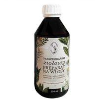 Franciszkański ziołowy preparat na włosy. Wzmacnia i odżywia włosy, zapobiega ich wypadaniu DARMOWA DOSTAWA OD 65 ZŁ