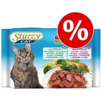 Pakiet próbny cat w saszetkach, 4 x 100 g - sterilized, kurczak / indyczka  darmowa dostawa od 89 zł + promocje od zooplus!  -5% rabat dla nowych klientów marki Stuzzy