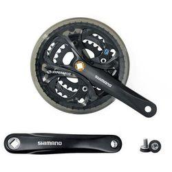 Shimano Afcm361e888cl mechanizm korbowy fc-m361 48x38x28 175 mm czarny z osłoną