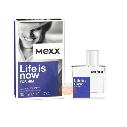 Mexx Life is Now Men 30ml EdT - Świetna przecena