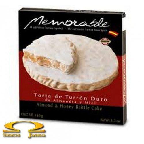 Turron duro memorable okrągły 150g marki Dona jimena