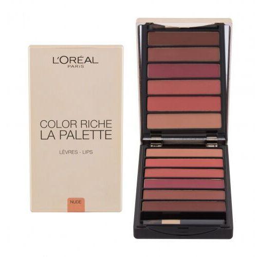 L´Oréal Paris Color Riche La Palette pomadka 6 g dla kobiet Nude - Bardzo popularne
