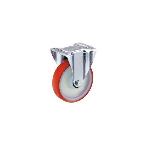 Opona poliuretanowa na feldze poliamidowej,Ø kółka x szer. 100 x 32 mm