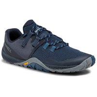 Buty MERRELL - Trail Glove 6 J135383 Blue Fonce