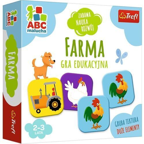 Trefl Farma abc malucha gra edukacyjna 01944