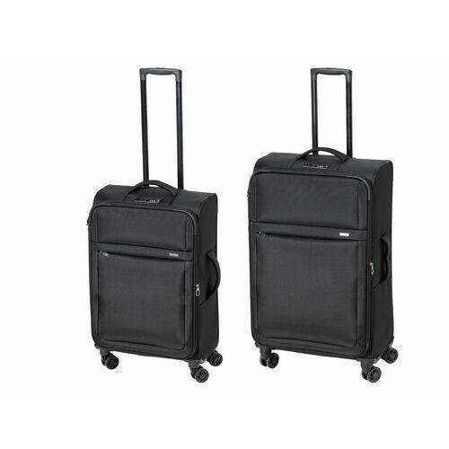 TOPMOVE® Zestaw walizek podróżnych, czarny, 2 szt
