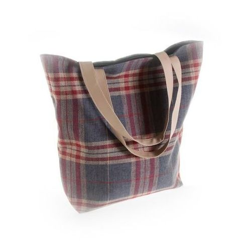 Dekoria Torba British Shopper grafit, 44x43x15cm