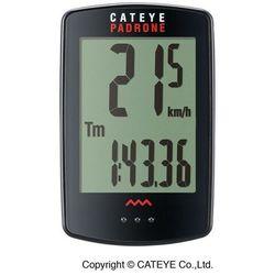Cateye padrone cc-pa100w licznik rowerowy czarny liczniki rowerowe bezprzewodowe