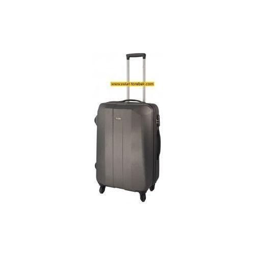 3028acb82d764 model 248 walizka średnia 4 koła materiał abs zamek szyfrowy tsa marki  Dielle