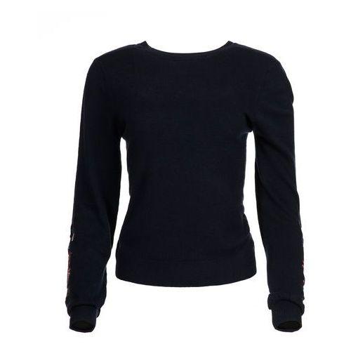 Desigual sweter damski Txell L ciemnoniebieski, w 5 rozmiarach