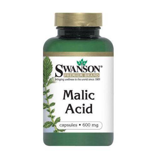 Kapsułki Swanson Malic Acid (Kwas jabłkowy) 600mg 100 kaps