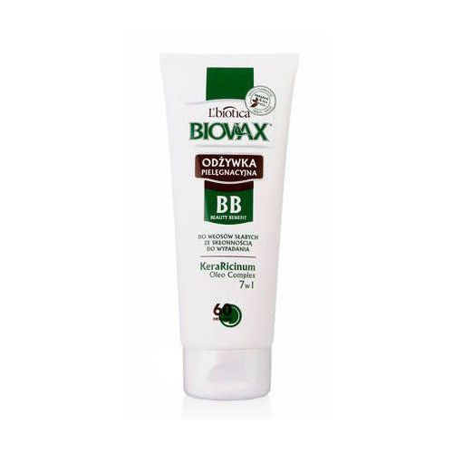 L`biotica Biovax odżywka bb 60 sekund do włosów słabych i wypadających 200ml
