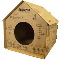 Zestaw domek tekturowy dla kota karma dla kota marki Josera