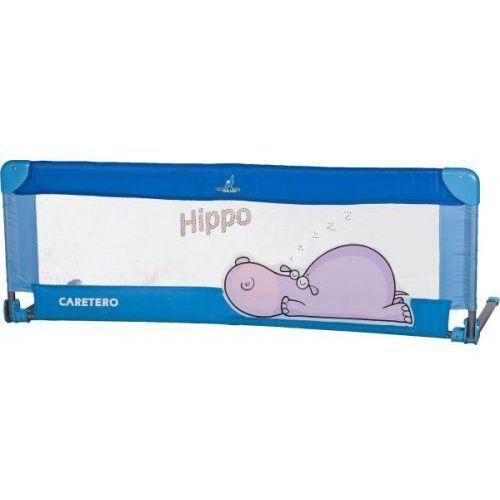 Bariera ochronna do łóżka safari hippo niebieski + darmowy transport! marki Caretero